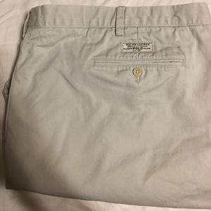 Pleated Ralph Lauren chinos